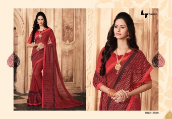 LT FABRICS TRADTIONAL COLLECTION OF FANCY PRINTED SAREE CATALOG WHOLESALE BEST RATE BY GOSIYA EXPOTS SURAT LT CATALOG (20)