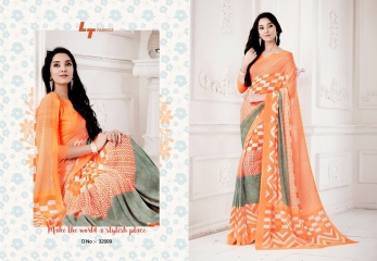 LT FABRICS ZARA VOL 22 FANCY PRINTED SAREE CATALOG IN WHOLESALE LT FABRICS SAREE CATALOG BESTRATE BY GOSIYA EXPORTS (15)