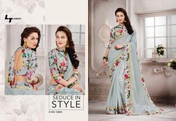 LT mysore silk printed silk saree catalog BY GOSIYA EXPORTS (6)