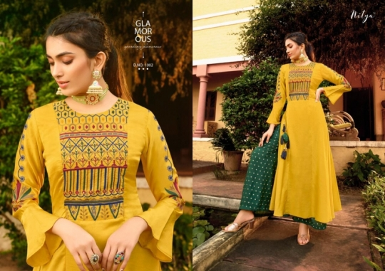 LT NITYA 42 NX 1001-1008 SERIES FANCY WESTERN WEAR KURTIS COLLECTION WHOLESALE DEALER BEST RATE BY GOSIYA EXPORTS SURAT (14)