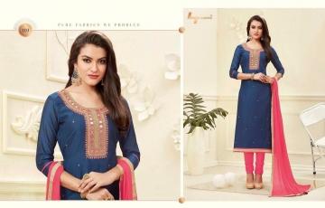 LT Nitya Neck Beauty wholesale salwar Kameez Catalog WHOLESALE BEST RATE (3)