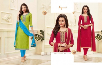 LT Nitya Neck Beauty wholesale salwar Kameez Catalog WHOLESALE BEST RATE (6)