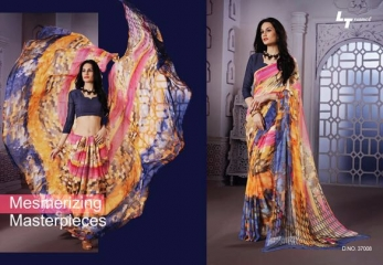LT VIBRANT EXCLUSIVE PRINTED SAREE CATALOG LT SAREE CATALOG WHOLESALE BEST RATE BY GOSIYA EXPORTS (7)
