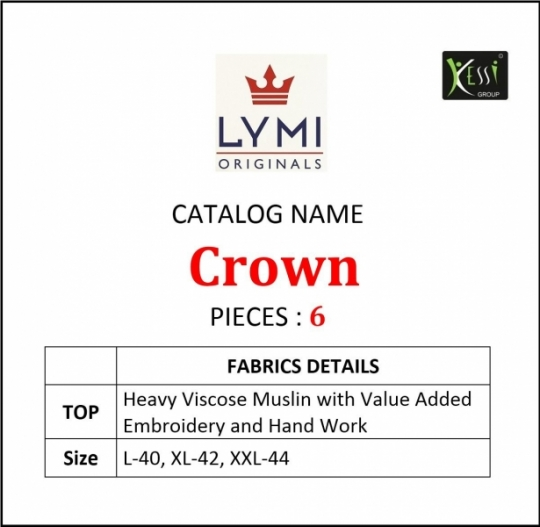 LYMI CROWN VISCOSE MASLIN  (9)