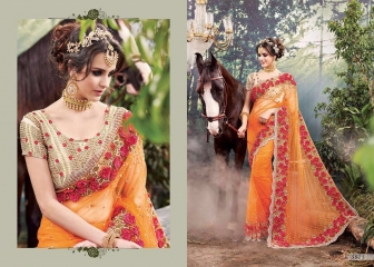 M N SAREES HEAVY BRIDAL 3800 SERIES WHOLESALE SURAT BEST RATE BY M N SAREES (1)