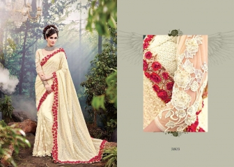 M N SAREES HEAVY BRIDAL 3800 SERIES WHOLESALE SURAT BEST RATE BY M N SAREES (3)