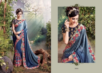 M N SAREES HEAVY BRIDAL 3800 SERIES WHOLESALE SURAT BEST RATE BY M N SAREES (6)