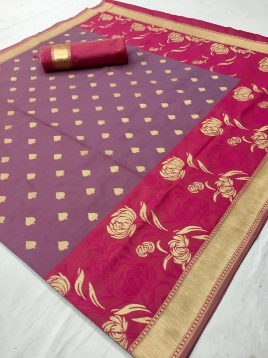 Mahakanta Silk Pure Jamdani Silk with Minakari Weaving SAREE  (5)