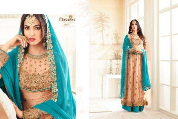 MAISHA ADDICTION 10 HIT DESIGN COLORS INDO WESTERN GOWNS AT BEST RATE BY GOSIYA EXPORTS SURAT (2)