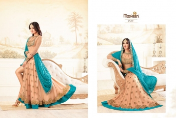 MAISHA ADDICTION 10 HIT DESIGN COLORS INDO WESTERN GOWNS AT BEST RATE BY GOSIYA EXPORTS SURAT (3)