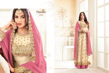 MAISHA ADDICTION 10 HIT DESIGN COLORS INDO WESTERN GOWNS AT BEST RATE BY GOSIYA EXPORTS SURAT (4)