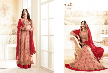 MAISHA ADDICTION 10 HIT DESIGN COLORS INDO WESTERN GOWNS AT BEST RATE BY GOSIYA EXPORTS SURAT (5)