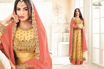 MAISHA ADDICTION 10 HIT DESIGN COLORS INDO WESTERN GOWNS AT BEST RATE BY GOSIYA EXPORTS SURAT (6)