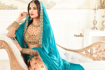 MAISHA ADDICTION 10 HIT DESIGN COLORS INDO WESTERN GOWNS AT BEST RATE BY GOSIYA EXPORTS SURAT (8)