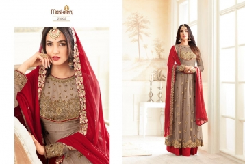 MAISHA ADDICTION 10 HIT DESIGN COLORS INDO WESTERN GOWNS AT BEST RATE BY GOSIYA EXPORTS SURAT (9)