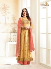 MAISHA ADDICTION 10 HIT DESIGN COLORS INDO WESTERN GOWNS AT BEST RATE BY GOSIYA EXPORTS SURAT
