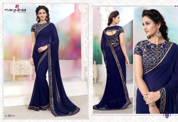MANJUBAA CLOTHING LOTUS VOL 6 FANCY SAREE WITH DESIGNER BLOUSE CATALOG BUY SAREE ONLINE WHOLESALE BEST RATE (1)
