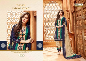 MAYUR CREATIONS BY NAIRA CATALOGUE COTTON CASUAL WEAR COLLECTION WHOLESALE BEST RATE BY GOSIYA EXPORTS SURAT (1)