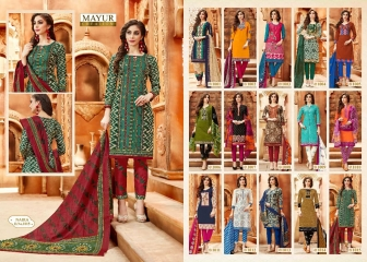 MAYUR CREATIONS BY NAIRA CATALOGUE COTTON CASUAL WEAR COLLECTION WHOLESALE BEST RATE BY GOSIYA EXPORTS SURAT (12)