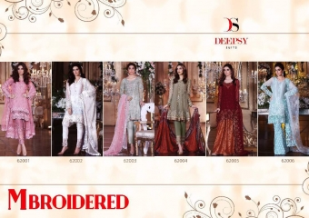 MBROIDERED BY DEEPSY SALWAR KAMEEZ PAKISTANI STYLE WHOLESALE RATE AT GOSIYA EXPORTS SURAT (5)