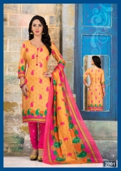 MEENAXI COTTON DHAMAAL VOL 2 COTTON PRINT DRESS MATERIAL SALWAR KAMEEZ (2)