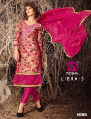 MEGHALI SUIT LIBRA VOL 3 FANCY DRESS MATERIAL CATALOG WHOLESALE SUPPLIER BEST ARET BY GOSIYA EXPORTS (1)