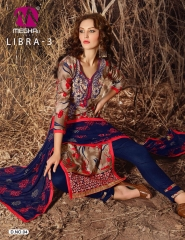 MEGHALI SUIT LIBRA VOL 3 FANCY DRESS MATERIAL CATALOG WHOLESALE SUPPLIER BEST ARET BY GOSIYA EXPORTS (5)