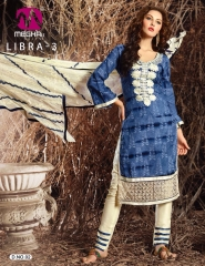 MEGHALI SUIT LIBRA VOL 3 FANCY DRESS MATERIAL CATALOG WHOLESALE SUPPLIER BEST ARET BY GOSIYA EXPORTS (8)