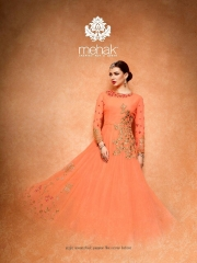 MEHAK COLLECTION DESIGNER SALWAR KAMEEZ SUITS WHOLESALER BEST RATE BY GOSIYA EXPORTS SURAT (5)