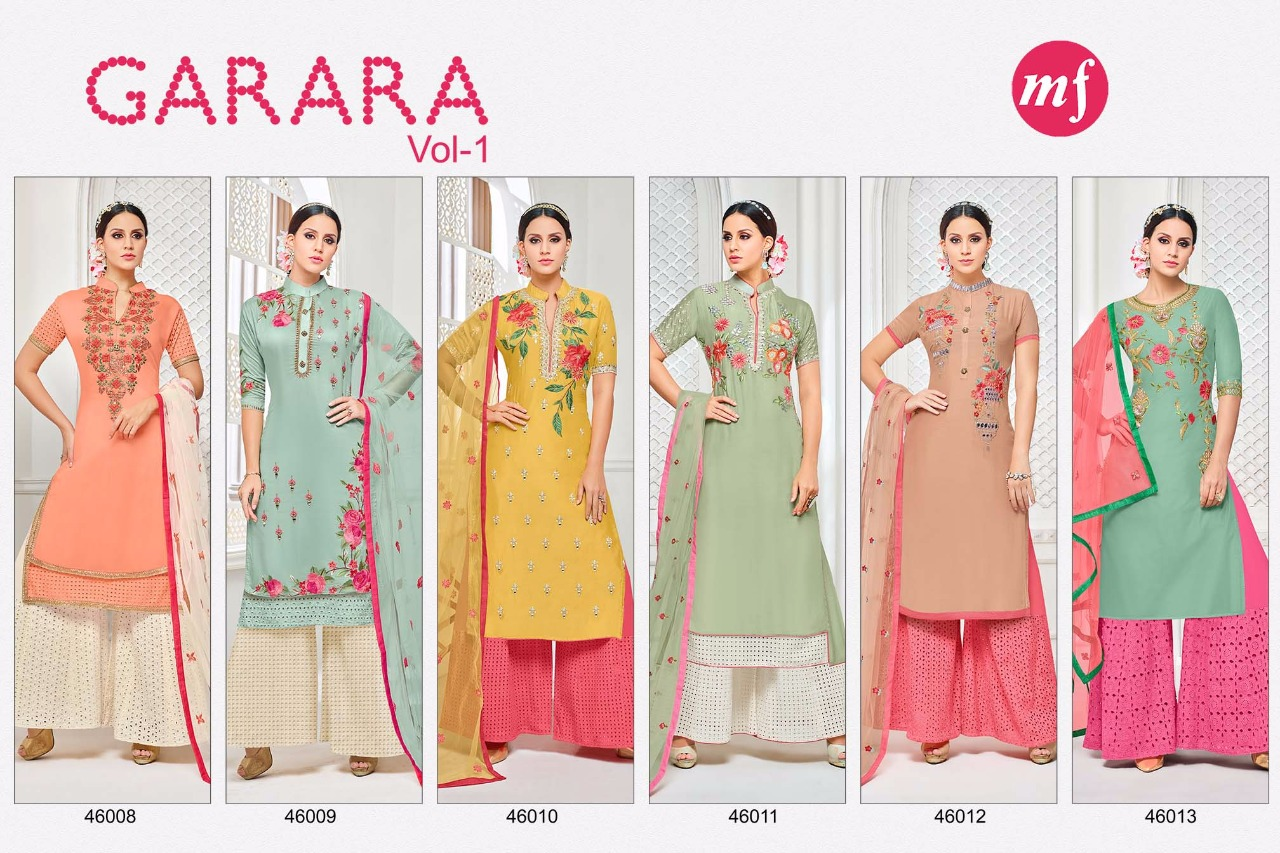 MF GARARA VOL 1 SALWAR KAMEEZ WHOLESALE RATE AT GOSIYA EXPORTS SURAT (4)