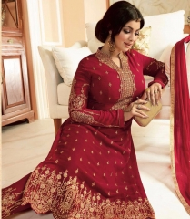 MINAZ SIMAR SUITS GLOSSY BY GOSIYAN EXPORTS SURAT (4)