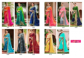 MINTORSI SUVARNA CATALOGUE DESIGNER & PARTY WEAR SAREES COLLECTION WHOLESALE DEALER BEST RATE BY GOSIYA EXPOTS SURAT (12)