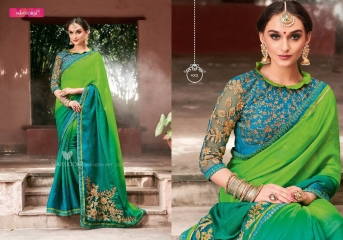 MINTORSI SUVARNA CATALOGUE DESIGNER & PARTY WEAR SAREES COLLECTION WHOLESALE DEALER BEST RATE BY GOSIYA EXPOTS SURAT (2)