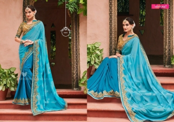 MINTORSI SUVARNA CATALOGUE DESIGNER & PARTY WEAR SAREES COLLECTION WHOLESALE DEALER BEST RATE BY GOSIYA EXPOTS SURAT (4)