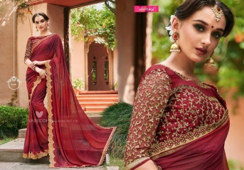 MINTORSI SUVARNA CATALOGUE DESIGNER & PARTY WEAR SAREES COLLECTION WHOLESALE DEALER BEST RATE BY GOSIYA EXPOTS SURAT (6)
