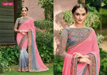 MINTORSI SUVARNA CATALOGUE DESIGNER & PARTY WEAR SAREES COLLECTION WHOLESALE DEALER BEST RATE BY GOSIYA EXPOTS SURAT (8)