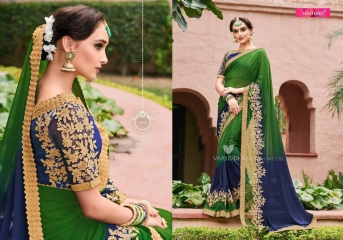 MINTORSI SUVARNA CATALOGUE DESIGNER & PARTY WEAR SAREES COLLECTION WHOLESALE DEALER BEST RATE BY GOSIYA EXPOTS SURAT (9)