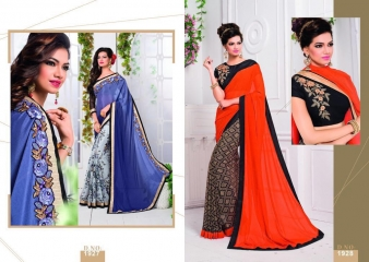 MISHREE COLLECTION ARIANA CATALOG GEORGETTE BRASSO EMBROIDERED SAREES COLLECTION (5)