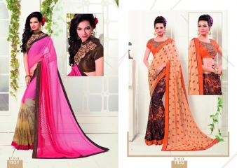 MISHREE COLLECTION ARIANA CATALOG GEORGETTE BRASSO EMBROIDERED SAREES COLLECTION (7)