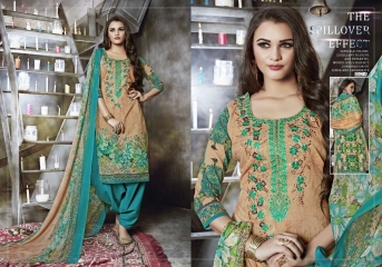 MISHRI JODHA COTTON CAMBRIC EMBROIDERY PRINT PATIALA SUITS WHOLESALE RATE (10)