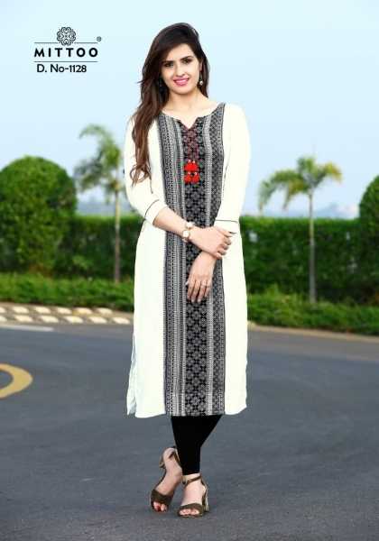MITTOO PALAK VOL 13 RAYON FABRIC FULL STITCHED DESIGNER KURTIS WHOLESALE DEALER BEST RATE BY GOSIYA EXPPORTS SURAT (4)