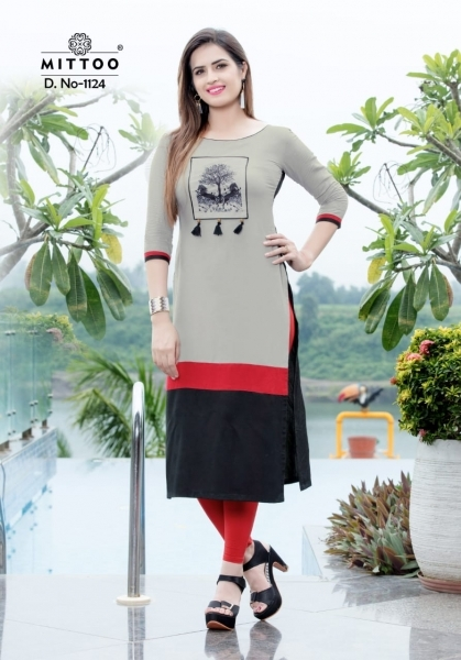 MITTOO PALAK VOL 13 RAYON FABRIC FULL STITCHED DESIGNER KURTIS WHOLESALE DEALER BEST RATE BY GOSIYA EXPPORTS SURAT (6)