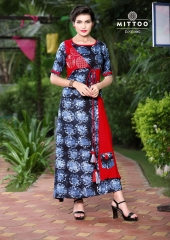 MITTOO PANGHAT VOL 1 RAYON PRINTS CASUAL WEAR KURTIS COLLECTION WHOLESALE DEALER BEST RAET BY GOSIYA EXPORTS SURAT (8)
