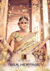 MN SILK HERITAGE SERIES 3901 TO 3915 DESIGNER SAREES CATALOG WHOLESALE BEST ARTE BY GOSIYA EXPORST (1)