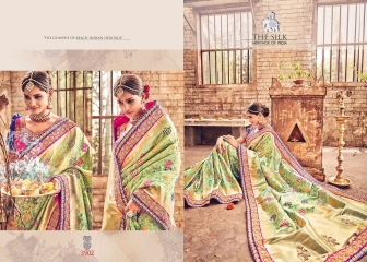 MN SILK HERITAGE SERIES 3901 TO 3915 DESIGNER SAREES CATALOG WHOLESALE BEST ARTE BY GOSIYA EXPORST (42)
