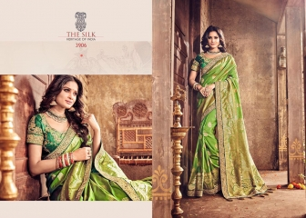 MN SILK HERITAGE SERIES 3901 TO 3915 DESIGNER SAREES CATALOG WHOLESALE BEST ARTE BY GOSIYA EXPORST (47)