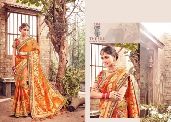 MN SILK HERITAGE SERIES 3901 TO 3915 DESIGNER SAREES CATALOG WHOLESALE BEST ARTE BY GOSIYA EXPORST (48)