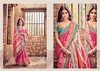 MN SILK HERITAGE SERIES 3901 TO 3915 DESIGNER SAREES CATALOG WHOLESALE BEST ARTE BY GOSIYA EXPORST (52)