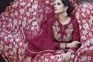 MOHENJO VOL 4 ARIHANT DESIGNER HEAVY SALWAR KAMEEZ CATALOG WHOLESALE BEST RATE GOSIYA EXPORTS FROM INDIA SURAT (19)