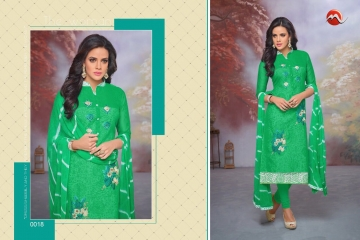 MOOF FASHION SHAISTA VOL 2 CHANDERI EMBROIDERED SUITS WHOLESALER BEST RATE BY GOSIYA EXPORTS SURAT (1)